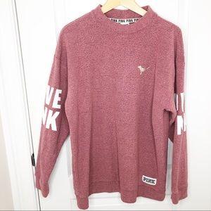 PINK Victoria's Secret Mauve Sweatshirt Pullover